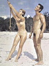 vintage nudists couples