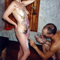 nude body painting 91