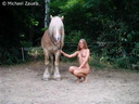 nude with horse 143