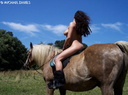 nude with horse 20
