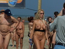 nudists group on beach nc25