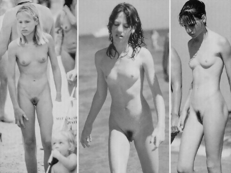 Vintage nude family nudists