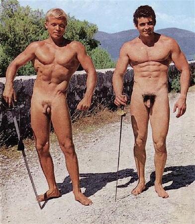 Male naturists