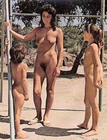 Vintage nudist videos