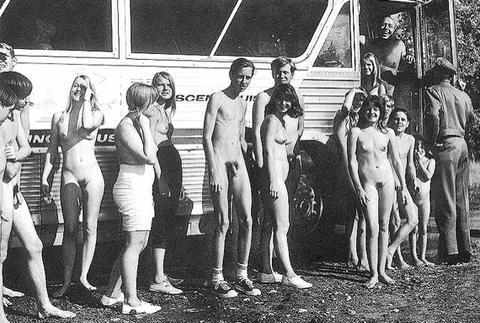 mixed swim team nude