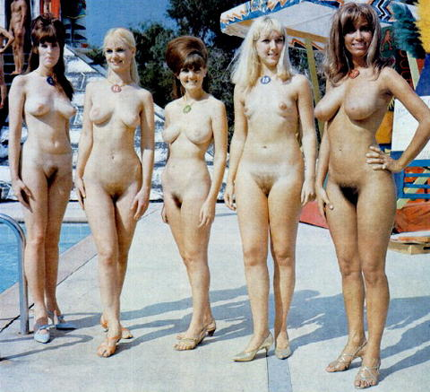 vintage nude girl contest
