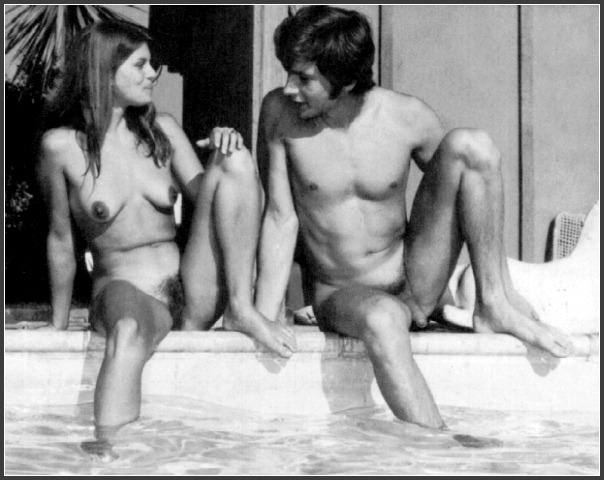Vintage family nudism naturism pictures