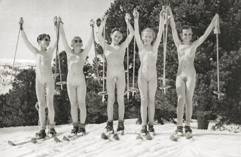 Winter ski sex vacation 9