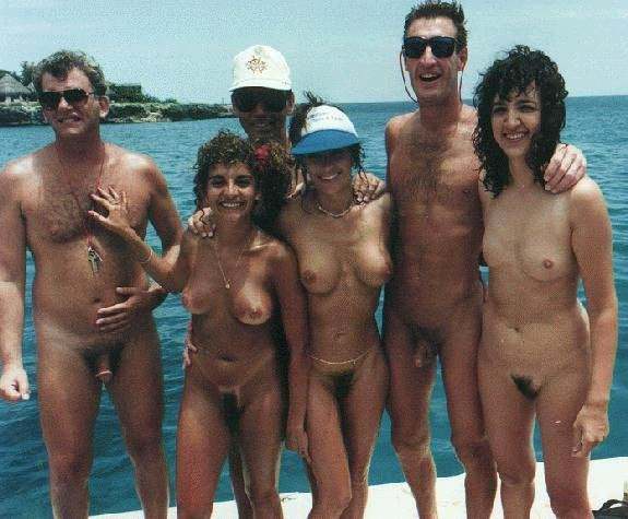 Groups of nude people